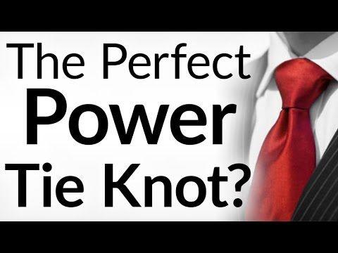 Perfect Power Tie Knot? | How to Tie a Double Windsor Neck-Tie | Full Windsor Necktie Tutorial