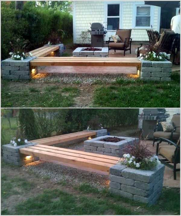 Super Creative Backyard Deck Concrete You Ll Love Backyard Backyard Fire Backyard Diy Projects