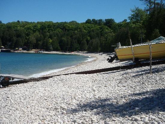 Beach Door County Resorts   Washington Island Wisconsin