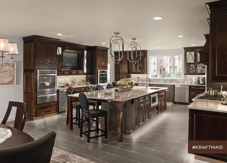 Since The Kitchen Island Seating Accommodates Several