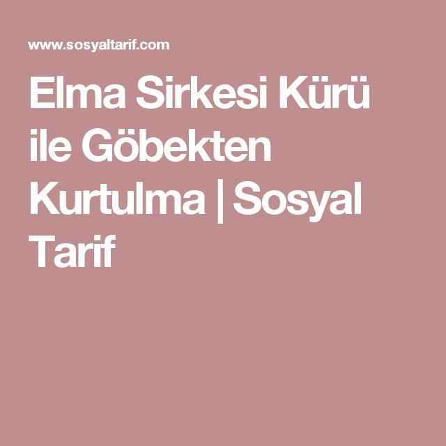 Elma Sirkesi Kürü ile Göbekten Kurtulma | Sosyal Tarif