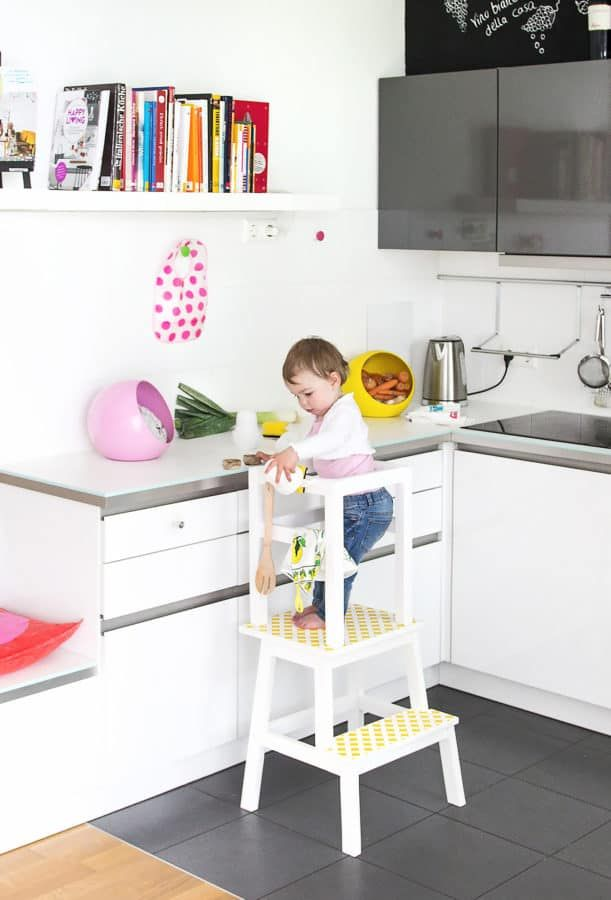 Top Ikea Hacks In Germany Here Are Some Of The Top Ikea Hacks In Germany Right Now They Are Beautiful A Learning Tower Diy Learning Tower Learning Tower Ikea