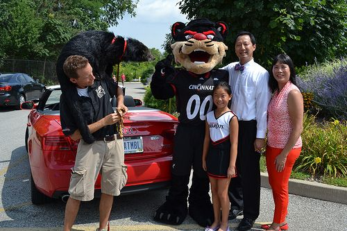 President Ono and family!