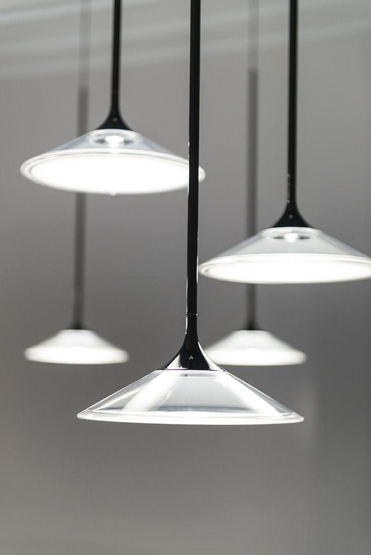 #Orsa chandelier designed by Foster + Partners #ArtemideEuroluce #ArtemideMDW17