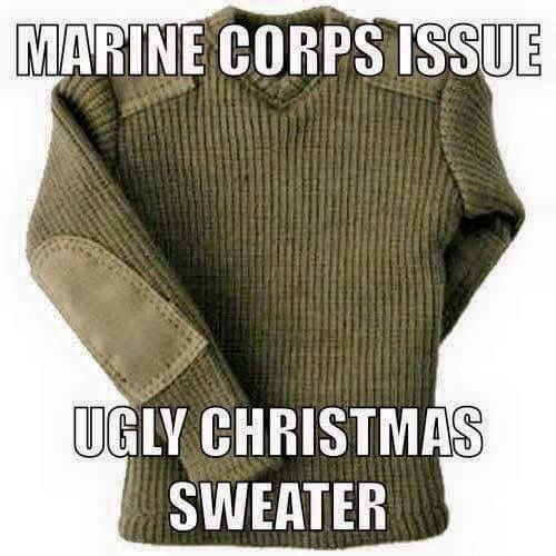 Marine Corps Wooly Pully