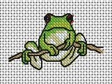 frog cross stitch - Google Search