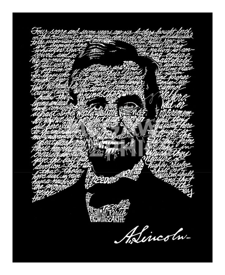 Abraham Lincoln (Gettysburg Address)
