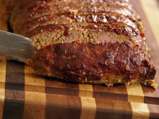 Alton's Smoked Party Meatloaf. Can't wait to try this.