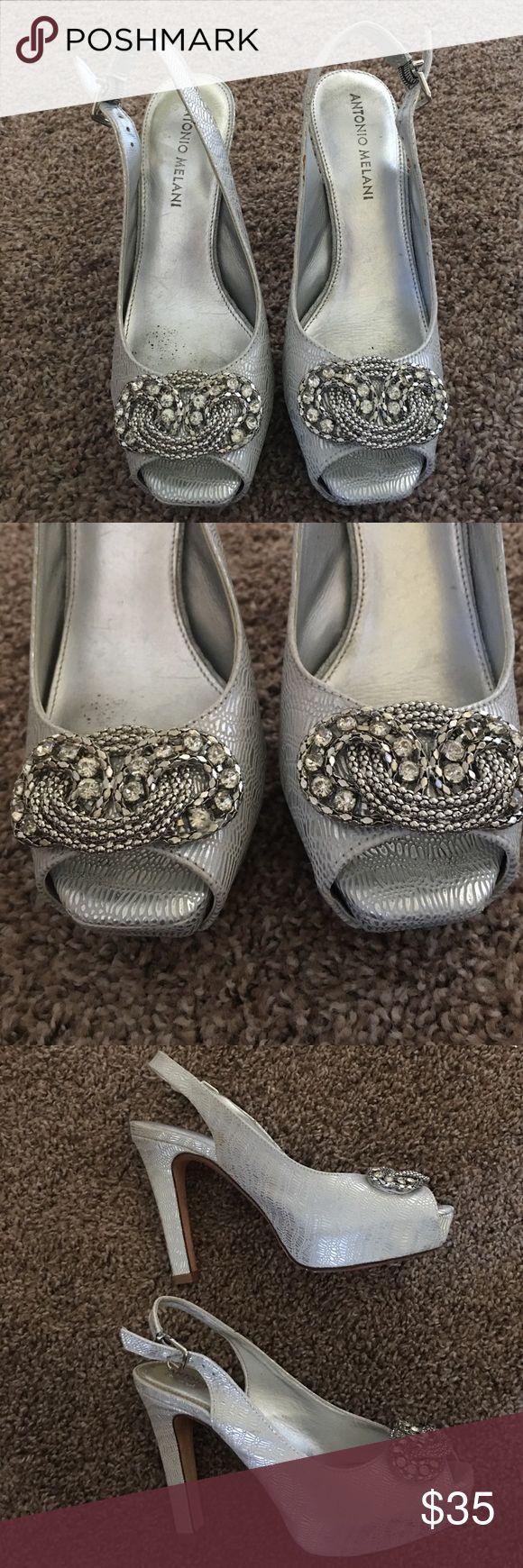 ANTONIO MELANI HEELS💕SALE In good condition. 4 inch heel. ANTONIO MELANI Shoes Heels