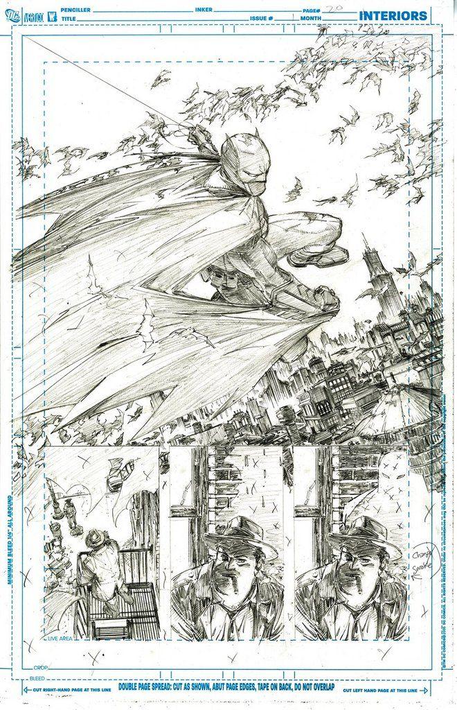 Greg Capullo, Batman #1, Page 20