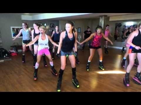 Kangoo With Becky- WORK WORK - YouTube