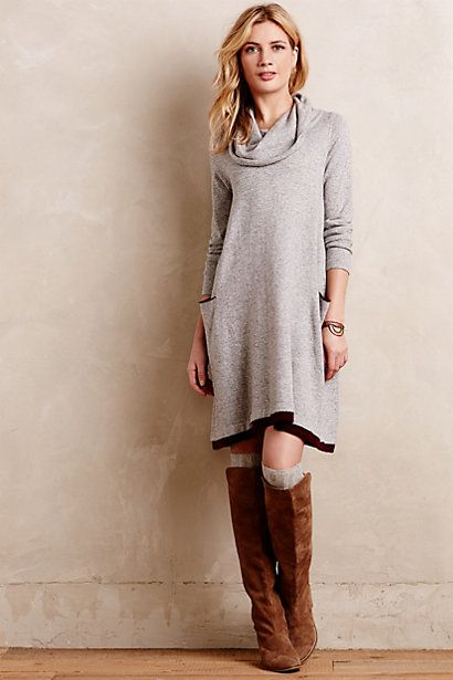 cowled swing #dress #anthrofave #blackfriday #sale