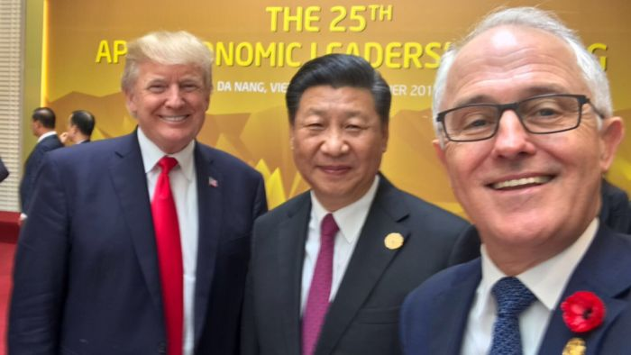 Donald Trump and Malcolm Turnbull need to talk about one thing this week: China's rising power - China power