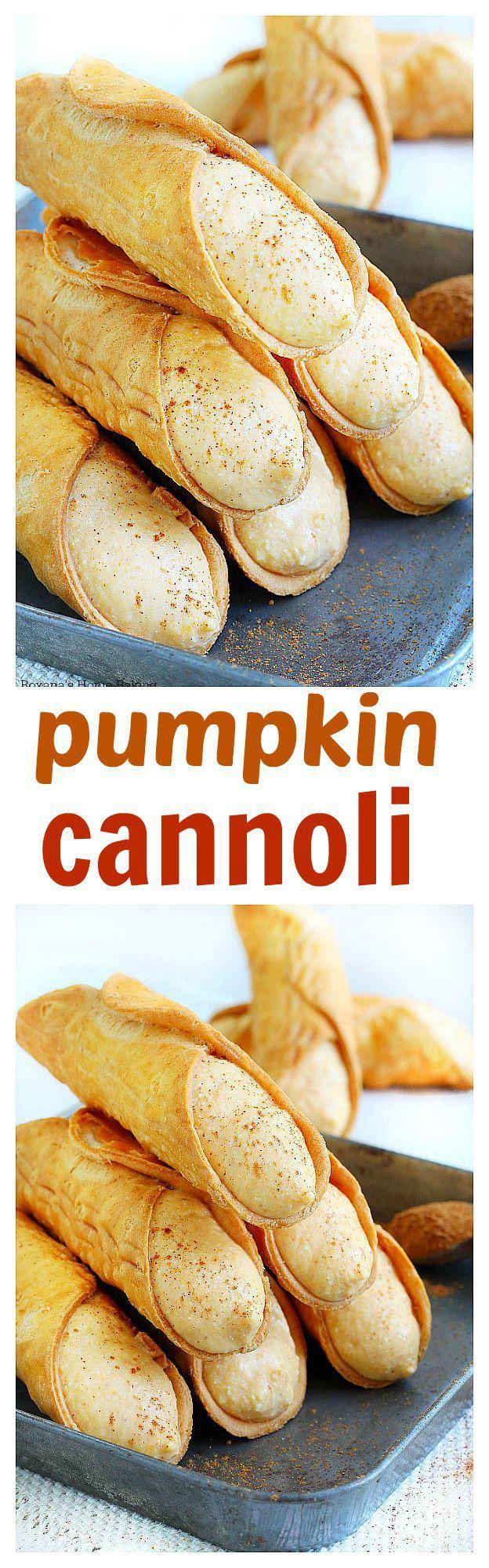 15 Must-see Cannoli Recipe Pins | Cannoli, Cannoli cream ...
