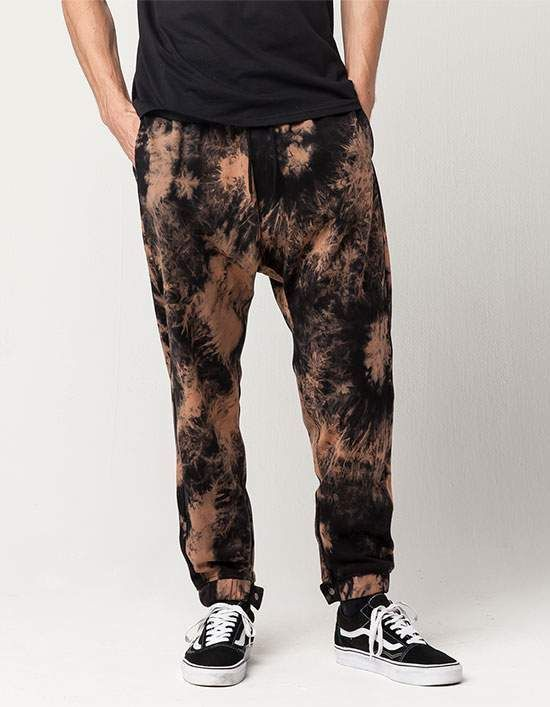 UNCLE RALPH Tie Dye Mens Sweatpants