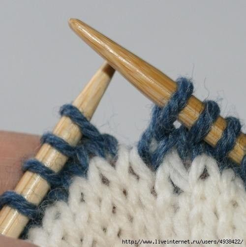 Незаметная смена цвета нити при круговом вязании (Уроки и МК по ВЯЗАНИЮ) | Журнал Вдохновение Рукодельницы