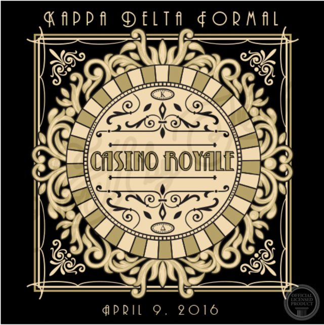 Casino Royale | Casino Theme Formal | Kappa Delta | KD | Vintage Formal T-Shirt…
