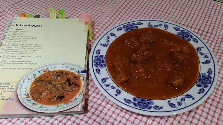 Govedji gulas {Beef stew)