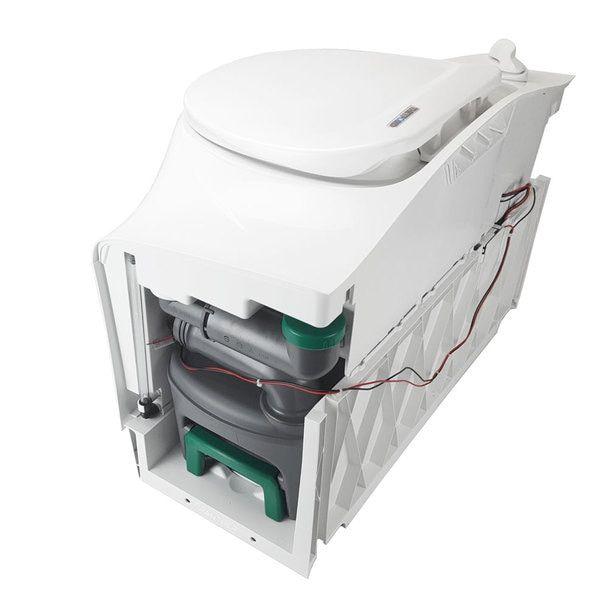 Thetford C402cr Rv Self Contained Cassette Toilet Electric Flush Rh Cassette Unique Rv S Toilet Flush Toilet Water Storage
