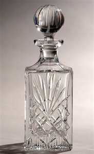 """""""Crystal Decanters 