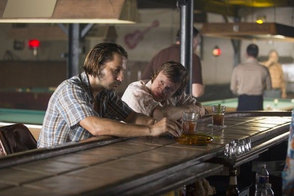 Damon Herriman and Logan Marshall-Green in Quarry (2016)