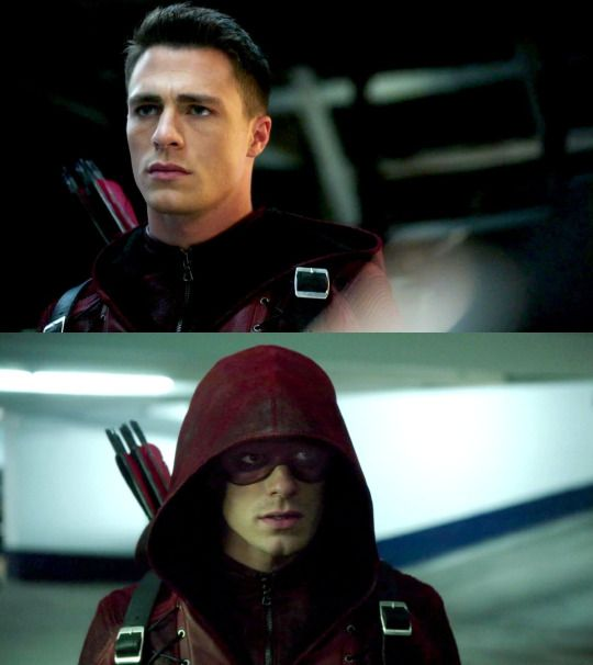 Arrow - Roy Harper as Arsenal
