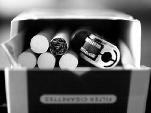 cigarretes and alcohol