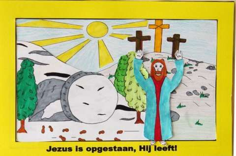 PASEN. Jezus is opgestaan, Hij leeft www.gelovenisleuk.nl