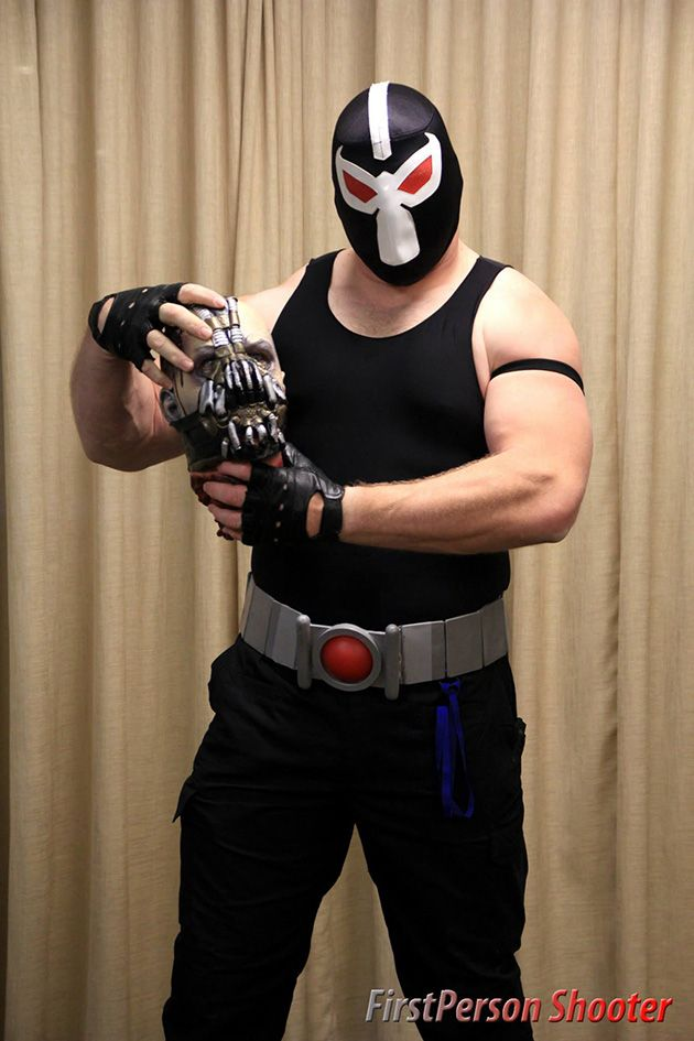 Character: Bane / From: DC Comics 'Batman: Vengeance of Bane' / Cosplayer: Terry Terman / Photography: FirstPerson Shooter