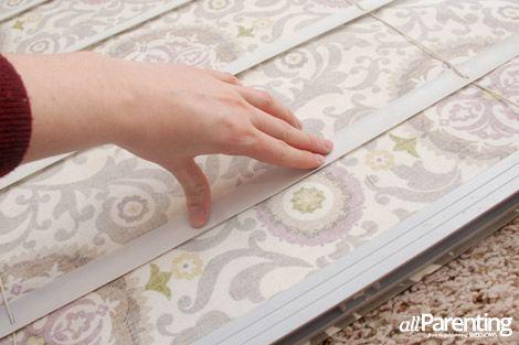 DIY: Roman Shades From Mini-Blinds