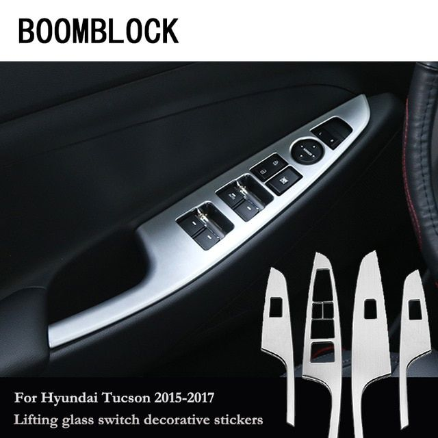 3PCS Car front air outlet air conditioner Sticker for 2016 2017 LHD Honda Civic