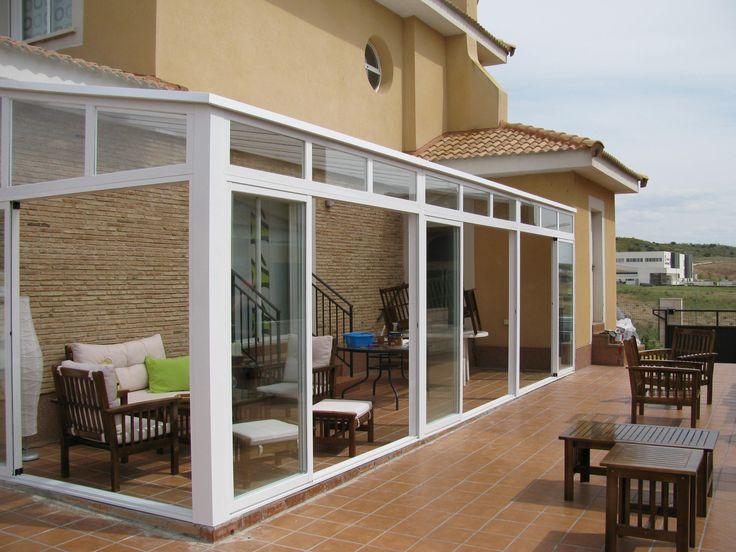 1000 ideas about cerramientos aluminio on pinterest for Modelos de terrazas