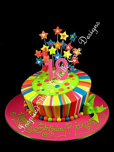 Happy Birthday Whimsical Cake