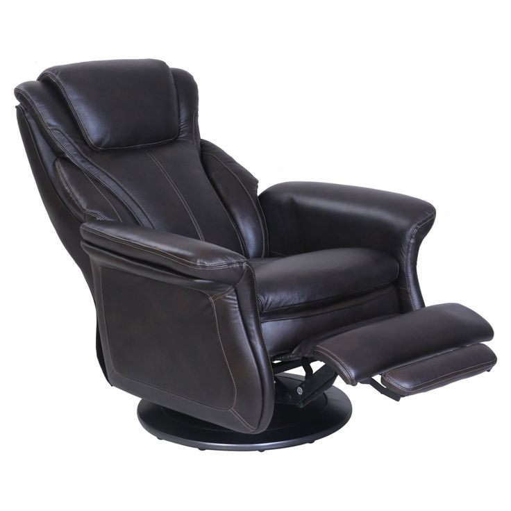 Barcalounger London Swivel Pedestal Recliner - 15-3067-3438-86