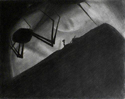 1 - 11x14 LIMBO - Charcoal Drawing and Illustration - Dark Gothic Fine Art - Original Video Game Art @ niftywarehouse.com #NiftyWarehouse #Halloween #Scary #Fun #Ideas