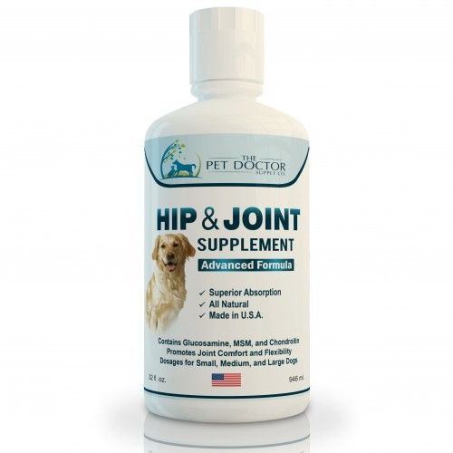 The Pet Doctor Liquid Glucosamine for Dogs