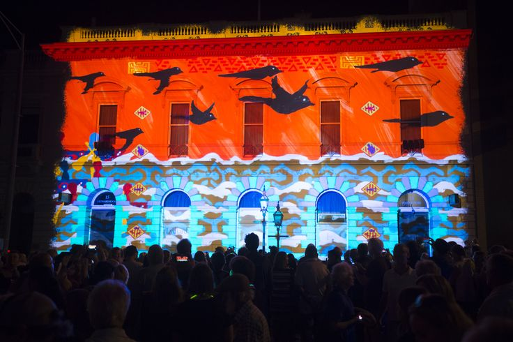White Night Ballarat 'More than 1 Nation' credit SDP Media