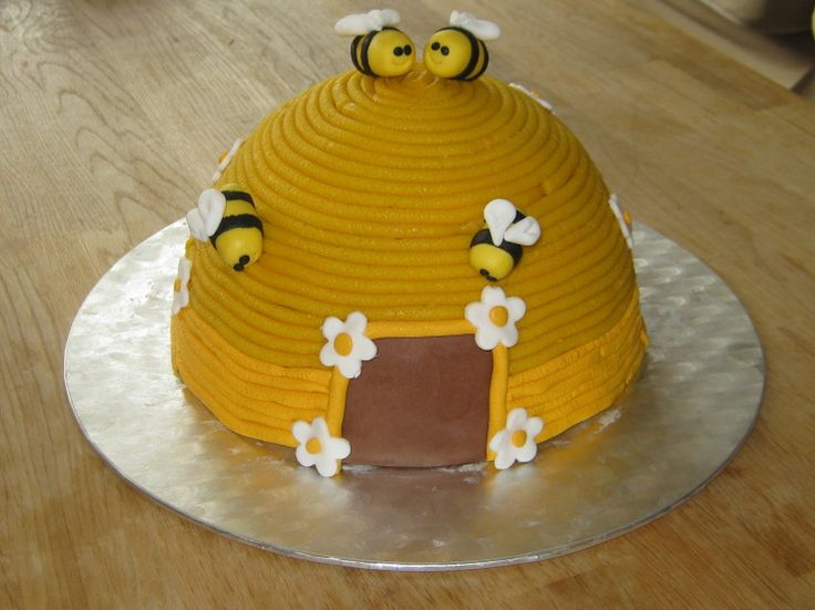 Foto van de week (week 30): Bijenkorf taart gemaakt door Jacqueline Mulder