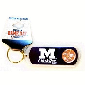 University Of Mississippi 'Ol Miss Keychain Lucky Case Pack 84