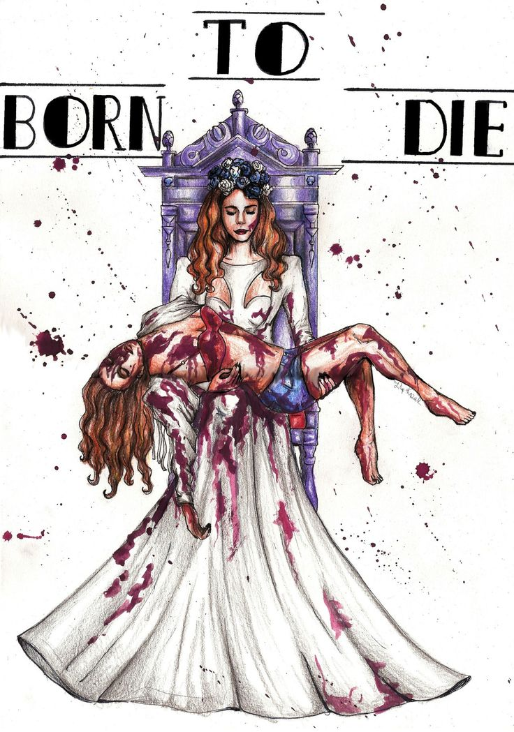 Lana Del Rey #Born_To_Die #art by Filip Kozak
