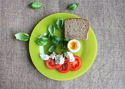 Tomates, Ovos, Prato, A Placa Verde