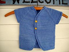 Ding baby cardigan  knitting pattern
