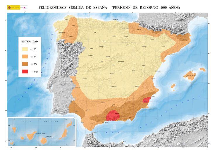 ¿Cuáles son los lugares con más riesgo de terremotos en España? - http://www.meteorologiaenred.com/cuales-son-los-lugares-con-mas-riesgo-de-terremotos-en-espana.html