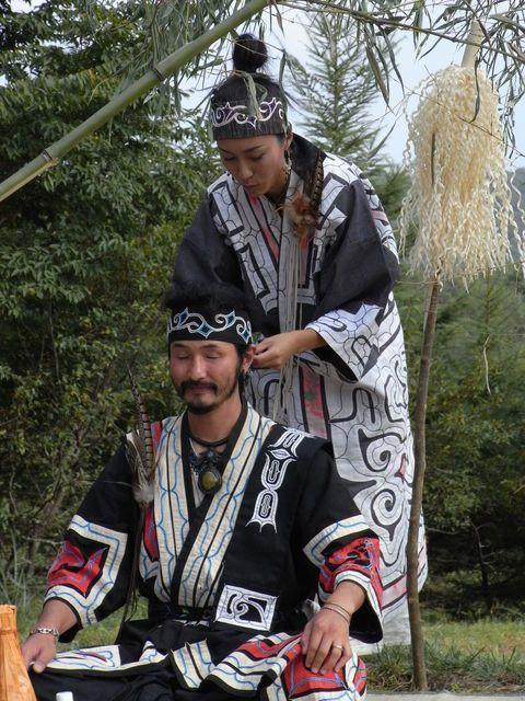 JAPAN | AINU couple