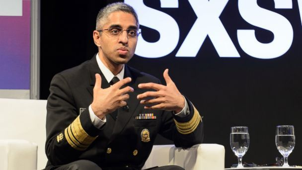 Dr. Vivek Murthy was appointed by former President Obama.