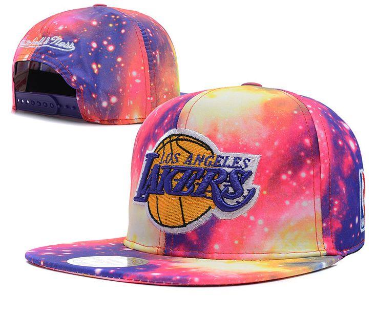 NBA los angeles lakers snapback caps more than 100 styles! #NBA #lakers #cap #snapback #hat #hiphop #street #fashion #purple #cotton #galaxy