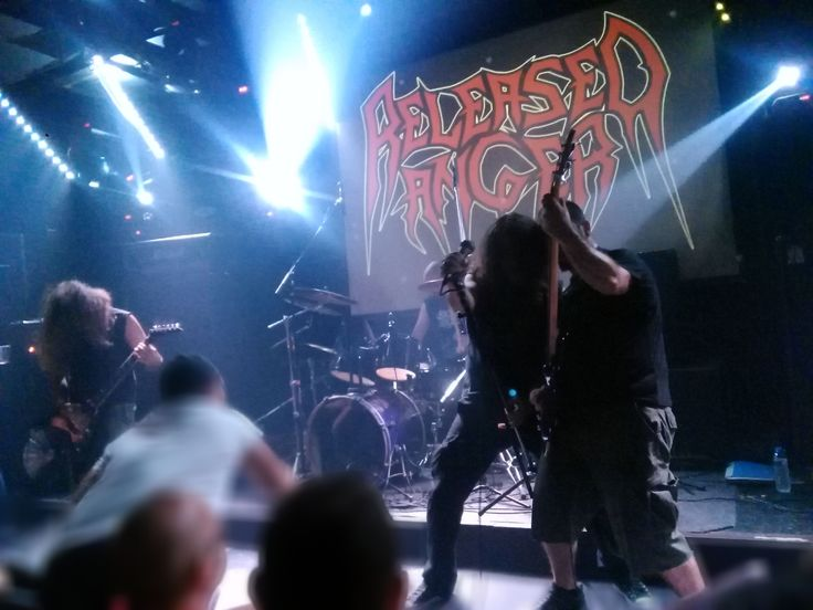 Released Anger opening for Sacred Reich Thessaloniki Greece 30 years of ignorance tour 2017