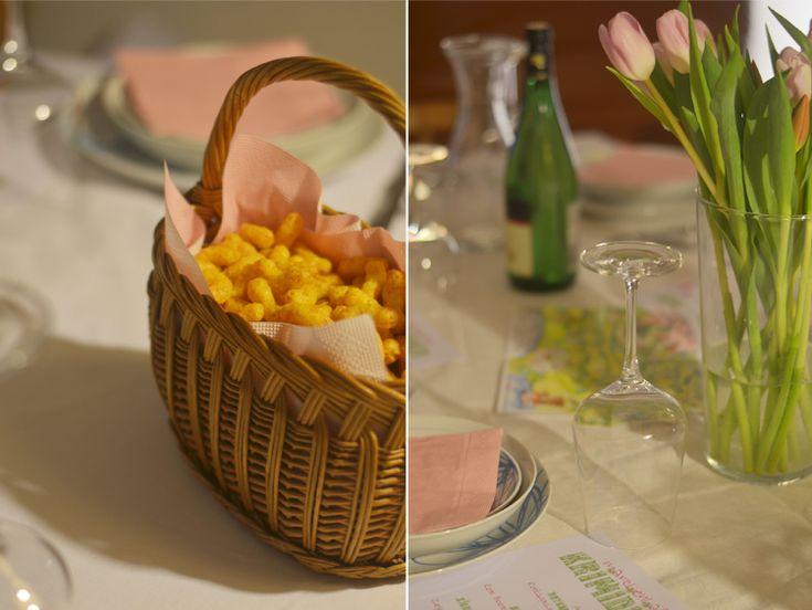 Thema: Die zweifelhafte Welt der Mädchen. Krimi Dinner von Krimi total. Tischdeko, Rezeptideen und ein paar Impressionen hier: http://www.bonnyundkleid.com/2014/03/krimi-dinner-ablauf-planung-und.html