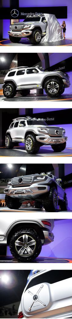 Mercedes Rolls Out the Future of the SUV Wired.com