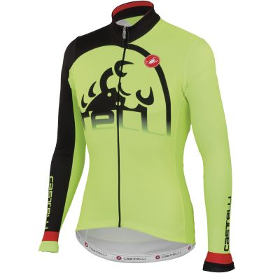 Castelli Sublime Long Sleeved Cycling Jersey
